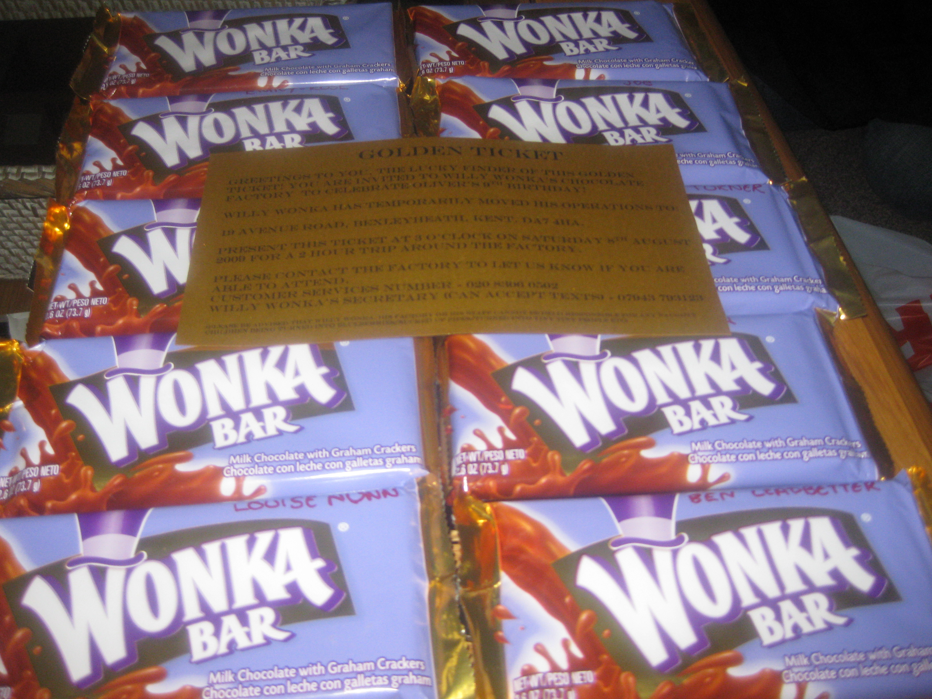 How To Throw A Willy Wonka Party Party Spanner